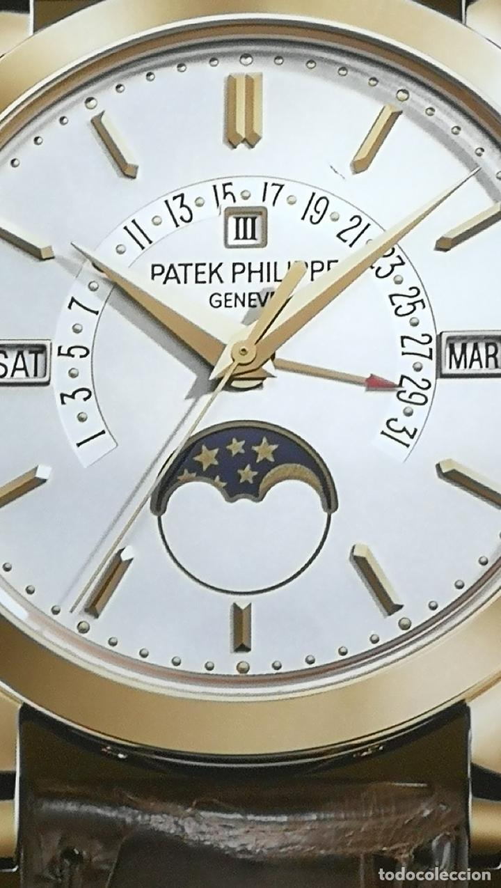Relojes - Patek: CUADRO, CARTEL grande LUMINOSO DE PUBLICIDAD RELOJ PATEK PHILIPPE, DE EXPOSICION INTERIOR y ....... - Foto 14 - 231179490