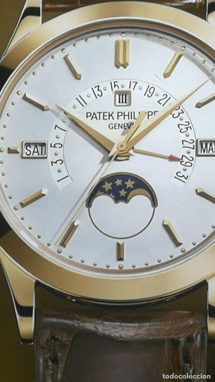 Relojes - Patek: CUADRO, CARTEL grande LUMINOSO DE PUBLICIDAD RELOJ PATEK PHILIPPE, DE EXPOSICION INTERIOR y ....... - Foto 16 - 231179490