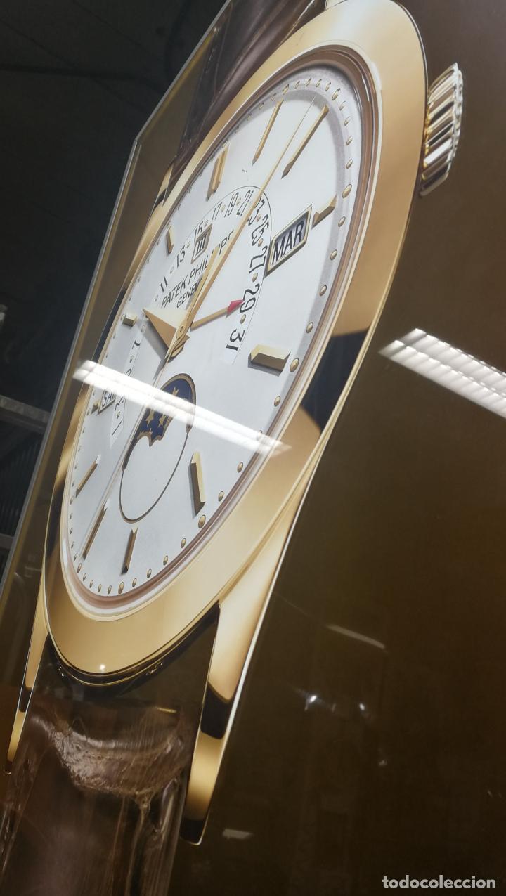 Relojes - Patek: CUADRO, CARTEL grande LUMINOSO DE PUBLICIDAD RELOJ PATEK PHILIPPE, DE EXPOSICION INTERIOR y ....... - Foto 18 - 231179490