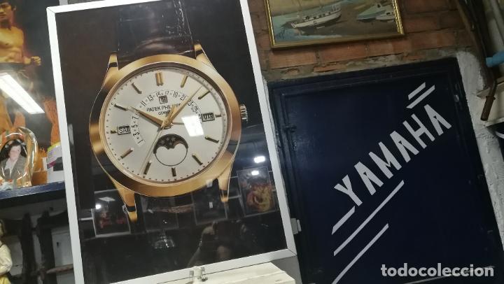 Relojes - Patek: CUADRO, CARTEL grande LUMINOSO DE PUBLICIDAD RELOJ PATEK PHILIPPE, DE EXPOSICION INTERIOR y ....... - Foto 42 - 231179490