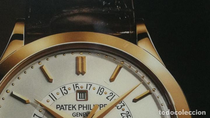 Relojes - Patek: CUADRO, CARTEL grande LUMINOSO DE PUBLICIDAD RELOJ PATEK PHILIPPE, DE EXPOSICION INTERIOR y ....... - Foto 45 - 231179490