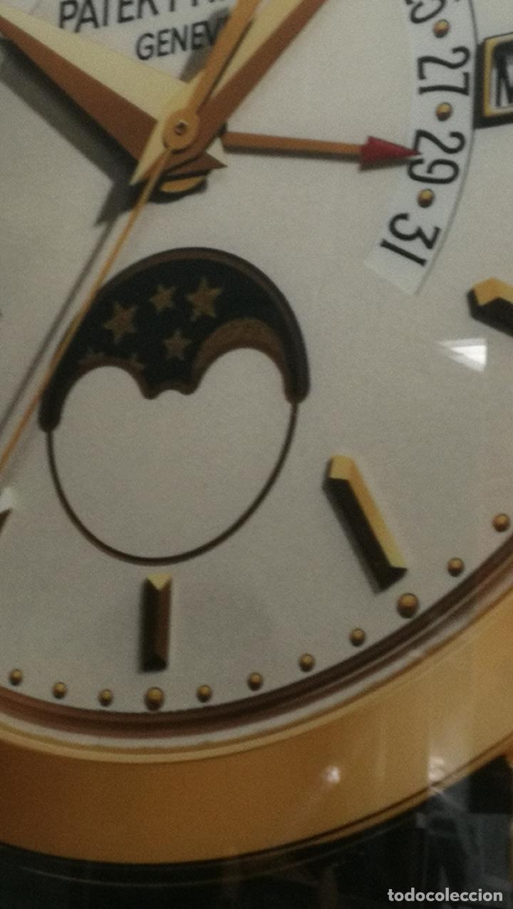 Relojes - Patek: CUADRO, CARTEL grande LUMINOSO DE PUBLICIDAD RELOJ PATEK PHILIPPE, DE EXPOSICION INTERIOR y ....... - Foto 49 - 231179490