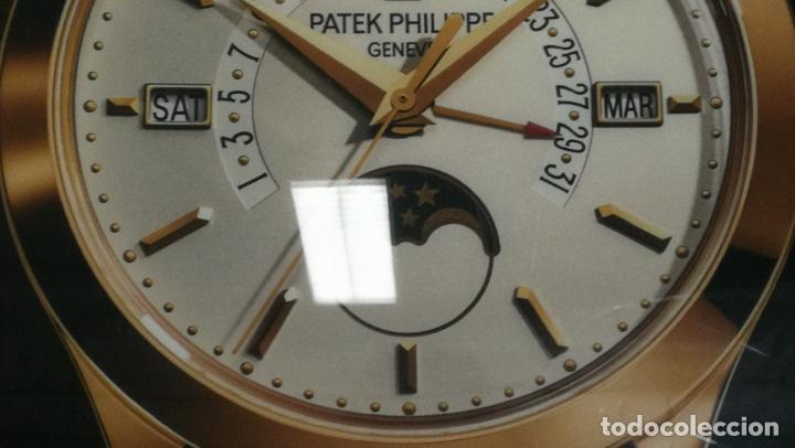 Relojes - Patek: CUADRO, CARTEL grande LUMINOSO DE PUBLICIDAD RELOJ PATEK PHILIPPE, DE EXPOSICION INTERIOR y ....... - Foto 50 - 231179490