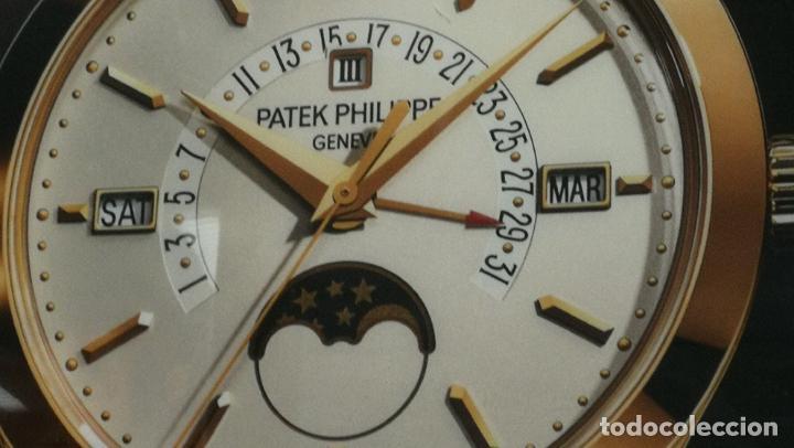 Relojes - Patek: CUADRO, CARTEL grande LUMINOSO DE PUBLICIDAD RELOJ PATEK PHILIPPE, DE EXPOSICION INTERIOR y ....... - Foto 51 - 231179490