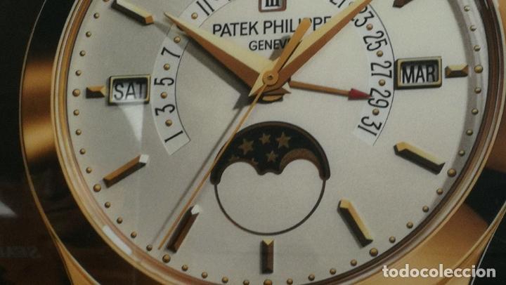 Relojes - Patek: CUADRO, CARTEL grande LUMINOSO DE PUBLICIDAD RELOJ PATEK PHILIPPE, DE EXPOSICION INTERIOR y ....... - Foto 52 - 231179490