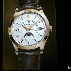 Relojes - Patek: CUADRO CARTEL GRANDE LUMINOSO DE PUBLICIDAD PATEK PHILIPPE, DE EXPOSICION INTERIOR Y ........ Lote 231179490