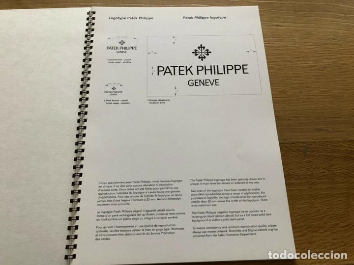 PATEK PHILIPPE - PATEK PHILIPPE - LOGOTYPE ADVERTISING POINT OF SALE CORNER LITERATURE (Relojes - Relojes Actuales - Patek)