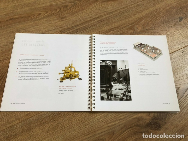 Relojes - Patek: Patek Philippe - Booklet Folleto PATEK PHILIPPE Museum - Guide dOrientation - French - Foto 4 - 251912275