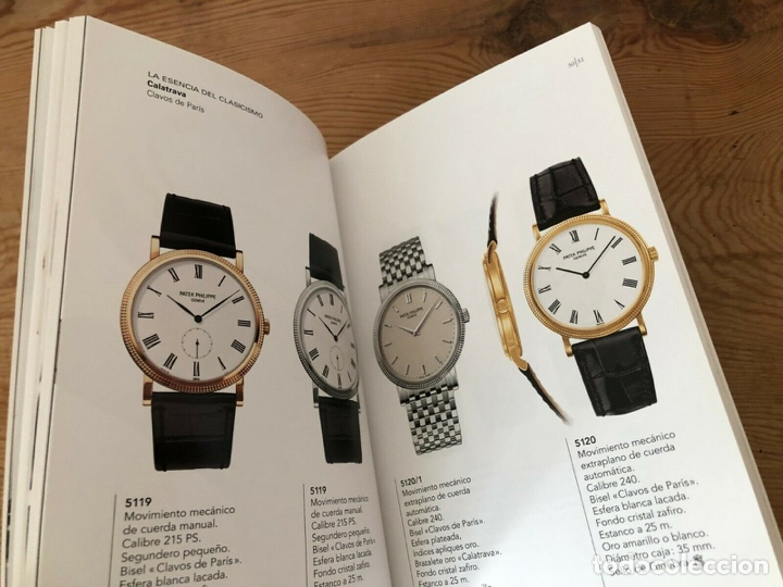 Relojes - Patek: Patek Philippe - Folleto - PATEK PHILIPPE Product Book Colección Principal Relojes 2006 2007 - Foto 7 - 251912615