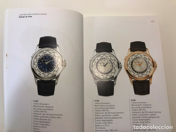 Relojes - Patek: Patek Philippe - Brochure PATEK PHILIPPE Colección Relojes 2007 / 2008 - Nautilus Aquanaut - 5070 - Foto 7 - 251913015