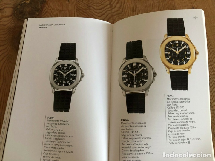 Relojes - Patek: Patek Philippe - Folleto - PATEK PHILIPPE Product Book Colección Principal Relojes 2005 2006 - Foto 4 - 251913350