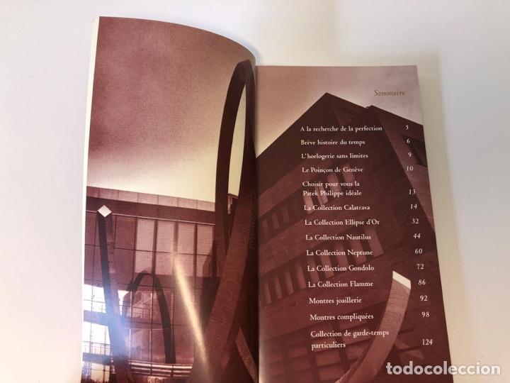 Relojes - Patek: Patek Philippe - PATEK PHILIPPE - Montres Collection 1997 - Nautilus Calatrava Gondolo - French - Foto 4 - 251913700