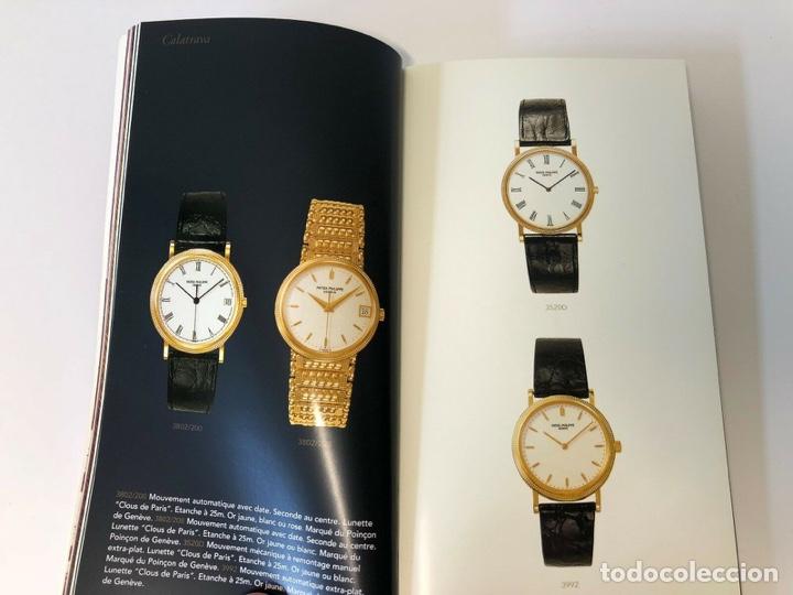 Relojes - Patek: Patek Philippe - PATEK PHILIPPE - Montres Collection 1997 - Nautilus Calatrava Gondolo - French - Foto 5 - 251913700