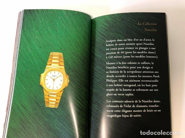 Relojes - Patek: Patek Philippe - PATEK PHILIPPE - Montres Collection 1997 - Nautilus Calatrava Gondolo - French - Foto 6 - 251913700