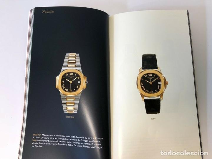 Relojes - Patek: Patek Philippe - PATEK PHILIPPE - Montres Collection 1997 - Nautilus Calatrava Gondolo - French - Foto 7 - 251913700