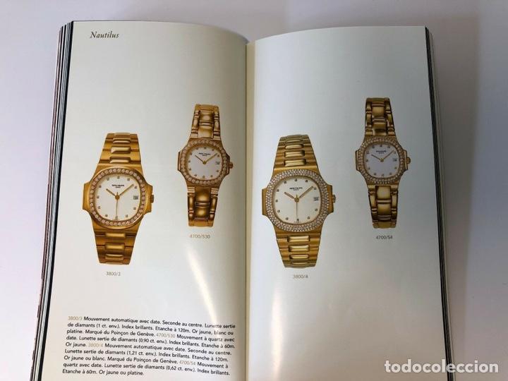 Relojes - Patek: Patek Philippe - PATEK PHILIPPE - Montres Collection 1997 - Nautilus Calatrava Gondolo - French - Foto 8 - 251913700