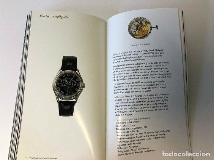 Relojes - Patek: Patek Philippe - PATEK PHILIPPE - Montres Collection 1997 - Nautilus Calatrava Gondolo - French - Foto 10 - 251913700
