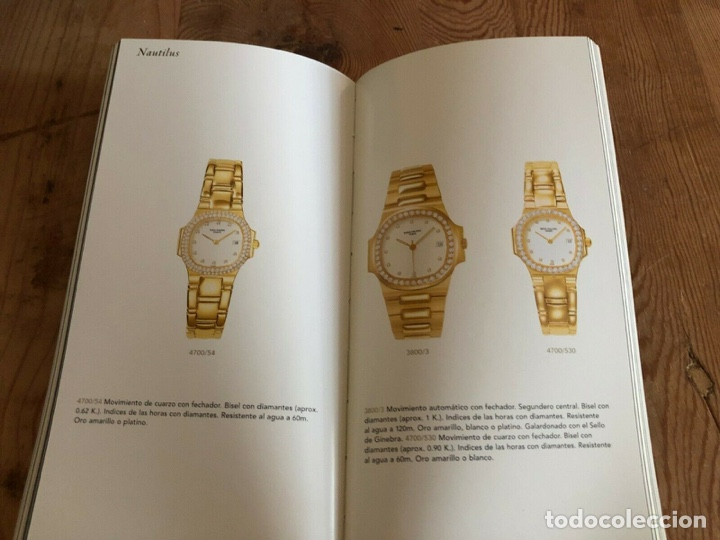 Relojes - Patek: Patek Philippe - Folleto PATEK PHILIPPE Product Book Colección Principal Relojes 1999 - Nautilus - Foto 3 - 251915320