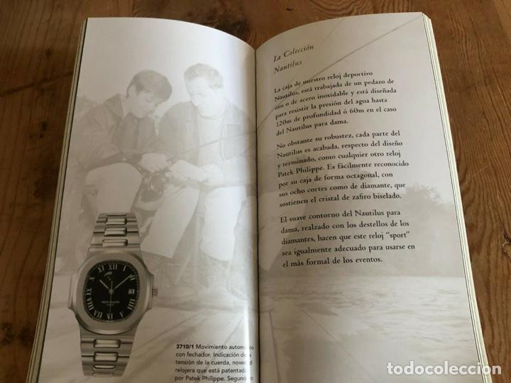 Relojes - Patek: Patek Philippe - Folleto PATEK PHILIPPE Product Book Colección Principal Relojes 1999 - Nautilus - Foto 5 - 251915320