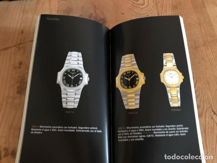 PATEK PHILIPPE - FOLLETO PATEK PHILIPPE PRODUCT BOOK COLECCIÓN PRINCIPAL RELOJES 1999 - NAUTILUS (Relojes - Relojes Actuales - Patek)