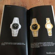 Relojes - Patek: PATEK PHILIPPE - FOLLETO PATEK PHILIPPE PRODUCT BOOK COLECCIÓN PRINCIPAL RELOJES 1999 - NAUTILUS. Lote 251915320