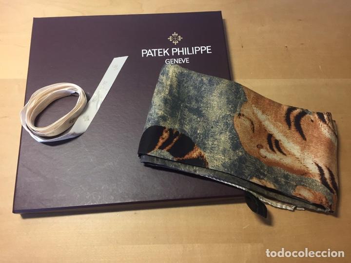 Relojes - Patek: Patek Philippe - Foulard - ERMENEGILDO ZEGNA pour PATEK PHILIPPE - 90 cm x 90 cm - Foto 2 - 251916270