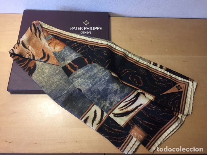 Relojes - Patek: Patek Philippe - Foulard - ERMENEGILDO ZEGNA pour PATEK PHILIPPE - 90 cm x 90 cm - Foto 3 - 251916270