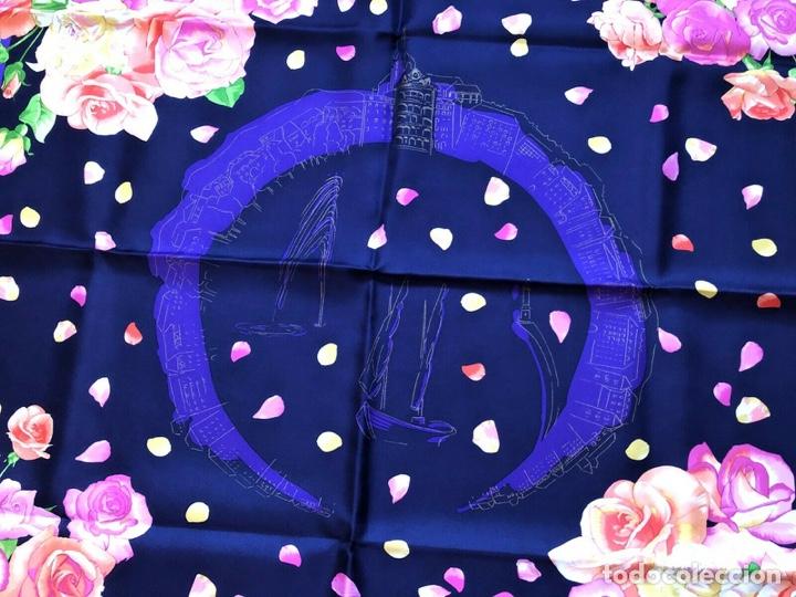 Relojes - Patek: Patek Philippe - Scarf PATEK PHILIPPE Pañuelo - 100% silk seda - 90 x 90 cm aprox - Foto 5 - 251916475
