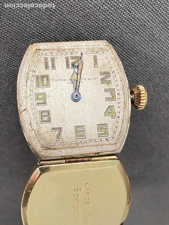 Relojes - Patek: PATEK PHILIPPE wristwatch . gold 14 kt. reloj de oro , a cuerda - Foto 5 - 266403718