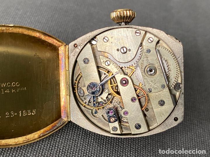 Relojes - Patek: PATEK PHILIPPE wristwatch . gold 14 kt. reloj de oro , a cuerda - Foto 8 - 266403718