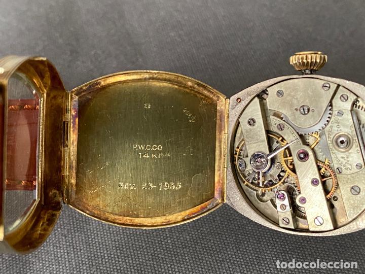 Relojes - Patek: PATEK PHILIPPE wristwatch . gold 14 kt. reloj de oro , a cuerda - Foto 9 - 266403718