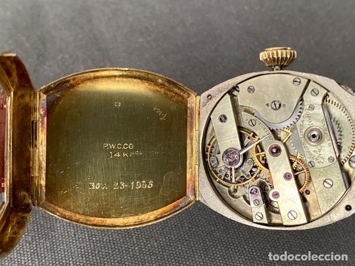 Relojes - Patek: PATEK PHILIPPE wristwatch . gold 14 kt. reloj de oro , a cuerda - Foto 11 - 266403718