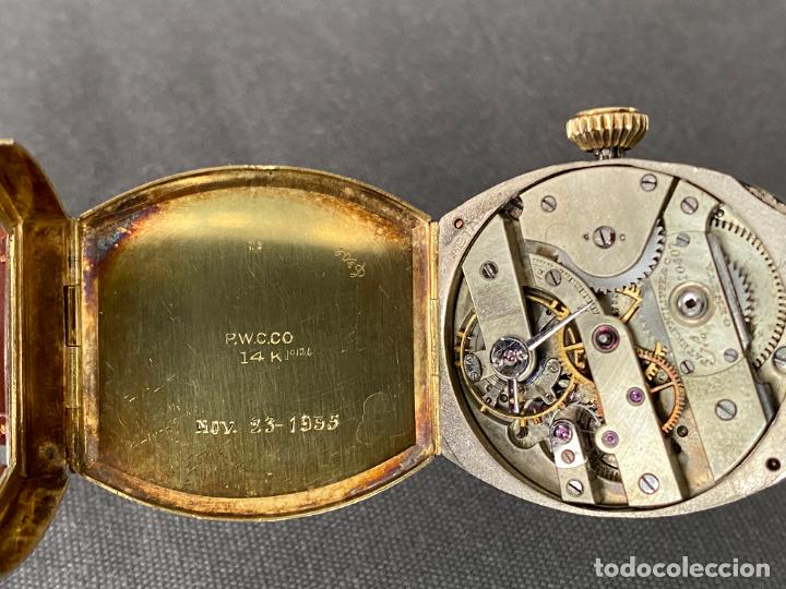 Relojes - Patek: PATEK PHILIPPE wristwatch . gold 14 kt. reloj de oro , a cuerda - Foto 12 - 266403718