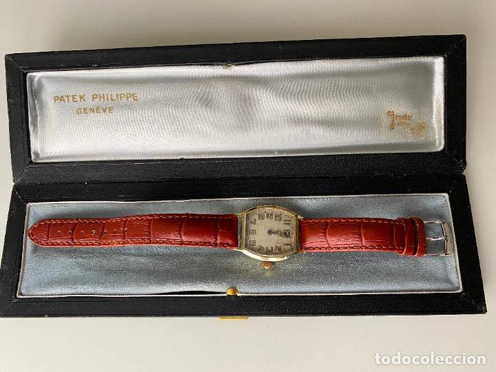 PATEK PHILIPPE WRISTWATCH . GOLD 14 KT. RELOJ DE ORO , A CUERDA (Relojes - Relojes Actuales - Patek)