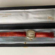 Relojes - Patek: PATEK PHILIPPE WRISTWATCH . GOLD 14 KT. RELOJ DE ORO , A CUERDA. Lote 266403718