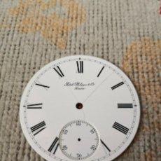 Relojes - Patek: PATEK PHILIPPE & CO GENEVE DIAL WHATCH ESFERA PORCELAIN WHITE 46 MM. ESFERA POCELANA RELOJ. Lote 270371028
