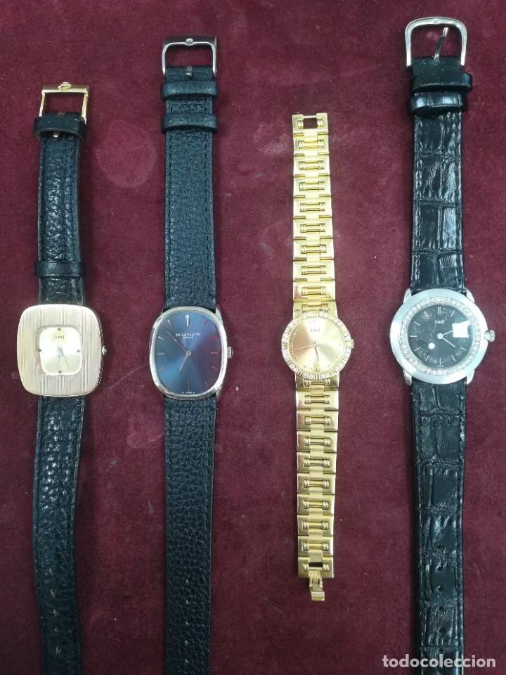 LOTE 4 RELOJES PIAGET Y PHILLIPE (Relojes - Relojes Actuales - Patek)
