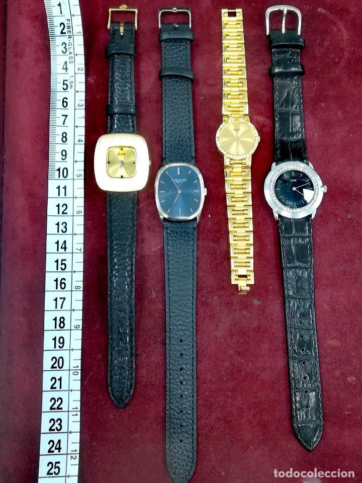 Relojes - Patek: LOTE 4 RELOJES PIAGET Y PHILLIPE - Foto 4 - 276401758
