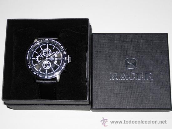Relojes - Racer: RELOJ RACER CRONO. A estrenar, con precintos, en su caja y garantía. - Foto 2 - 36319145