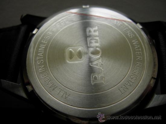 Relojes - Racer: RELOJ RACER CRONO. A estrenar, con precintos, en su caja y garantía. - Foto 8 - 36319145