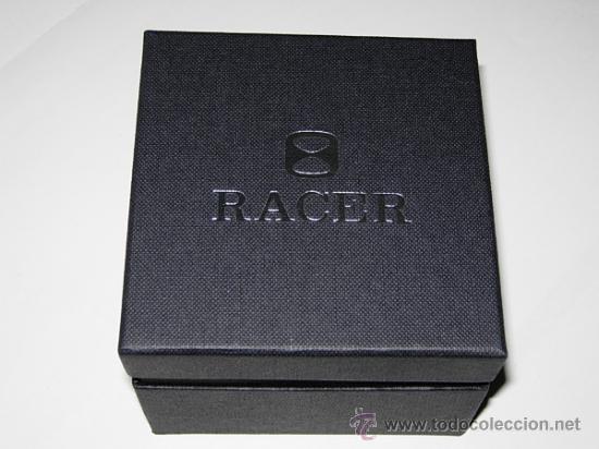 Relojes - Racer: RELOJ RACER CRONO. A estrenar, con precintos, en su caja y garantía. - Foto 10 - 36319145