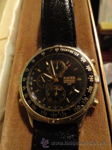 07e052583f54 Reloj racer chronograph 30 m resit funcionando - Sold through Direct ...