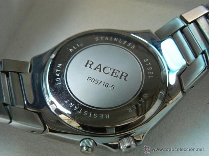 Relojes - Racer: RELOJ RACER DEPORTIVO MULTIFUNCION W.R.10 ATM. COMO NUEVO. - Foto 2 - 43014262