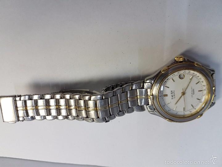 Relojes - Racer: Reloj de caballero Racer (Vintage) acero bicolor con correa bicolor, corona de rosca 100 metro agua - Foto 4 - 57814873