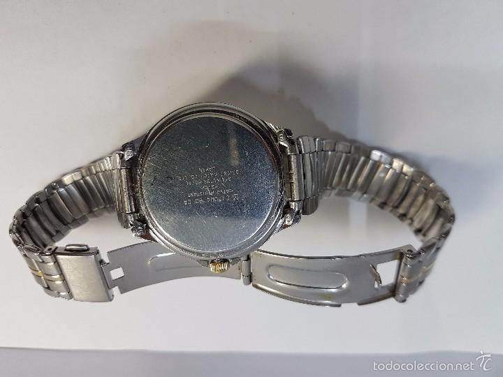 Relojes - Racer: Reloj de caballero Racer (Vintage) acero bicolor con correa bicolor, corona de rosca 100 metro agua - Foto 6 - 57814873
