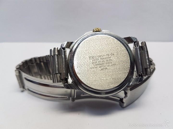 Relojes - Racer: Reloj de caballero (vintage) cuarzo Racer con correa de acero, corona de rosca water 100 metros - Foto 5 - 57817375