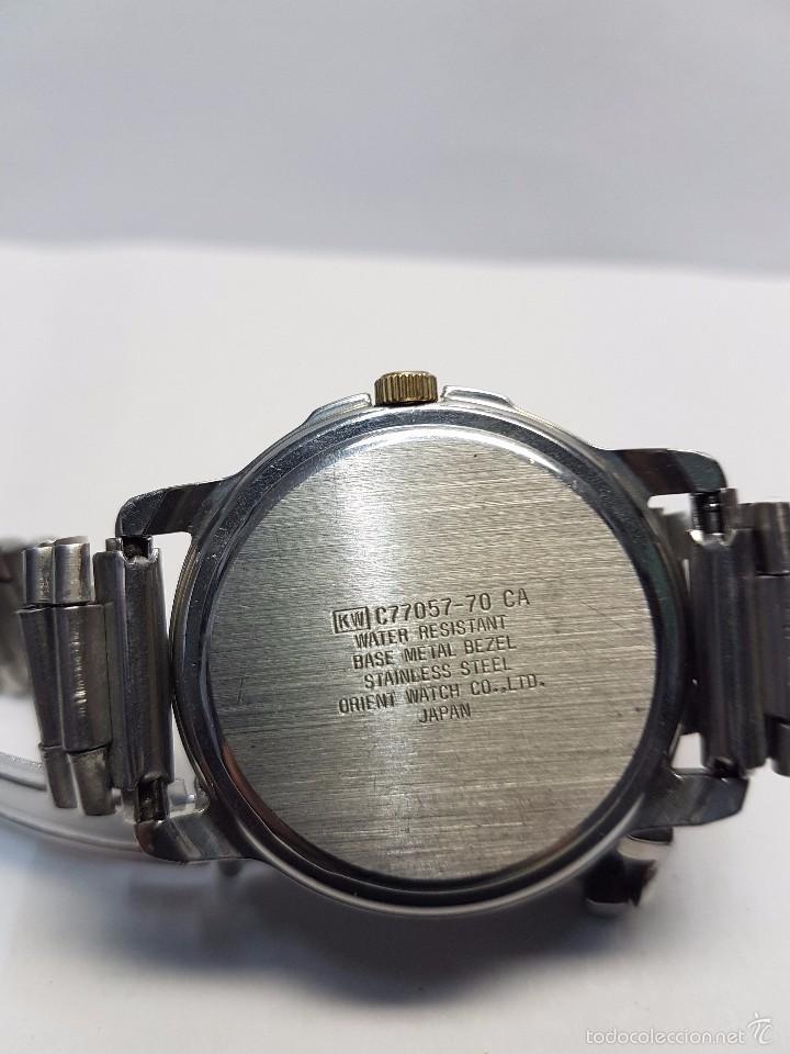 Relojes - Racer: Reloj de caballero (vintage) cuarzo Racer con correa de acero, corona de rosca water 100 metros - Foto 7 - 57817375