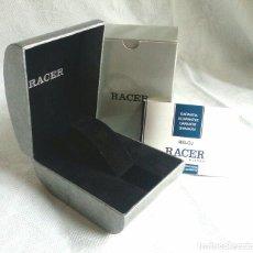 Relojes - Racer: ESTUCHE, CAJA Y GARANTÍA DE RELOJ RACER.. Lote 81690772