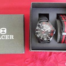 Relojes - Racer: RELOJ RACER DOS CORREAS NUEVO. Lote 69472641