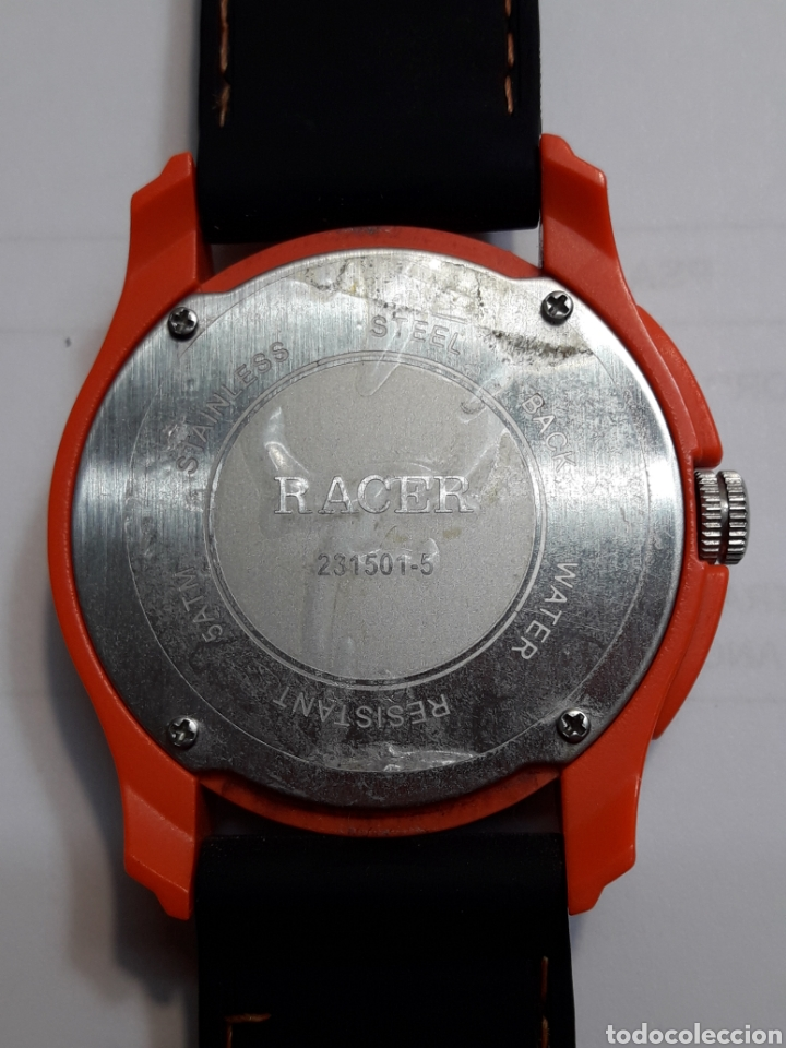 Relojes - Racer: Reloj Vintage Racer Quarzo correa caucho - Foto 2 - 105616668